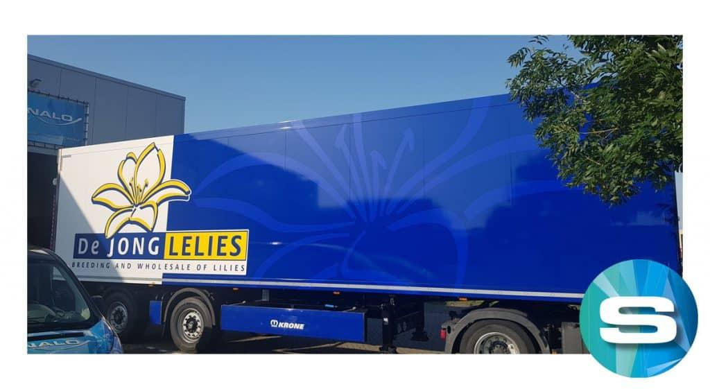 Vrachtwagen reclame