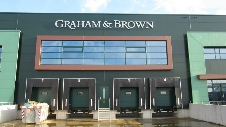 Gevelreclame Graham & Brown